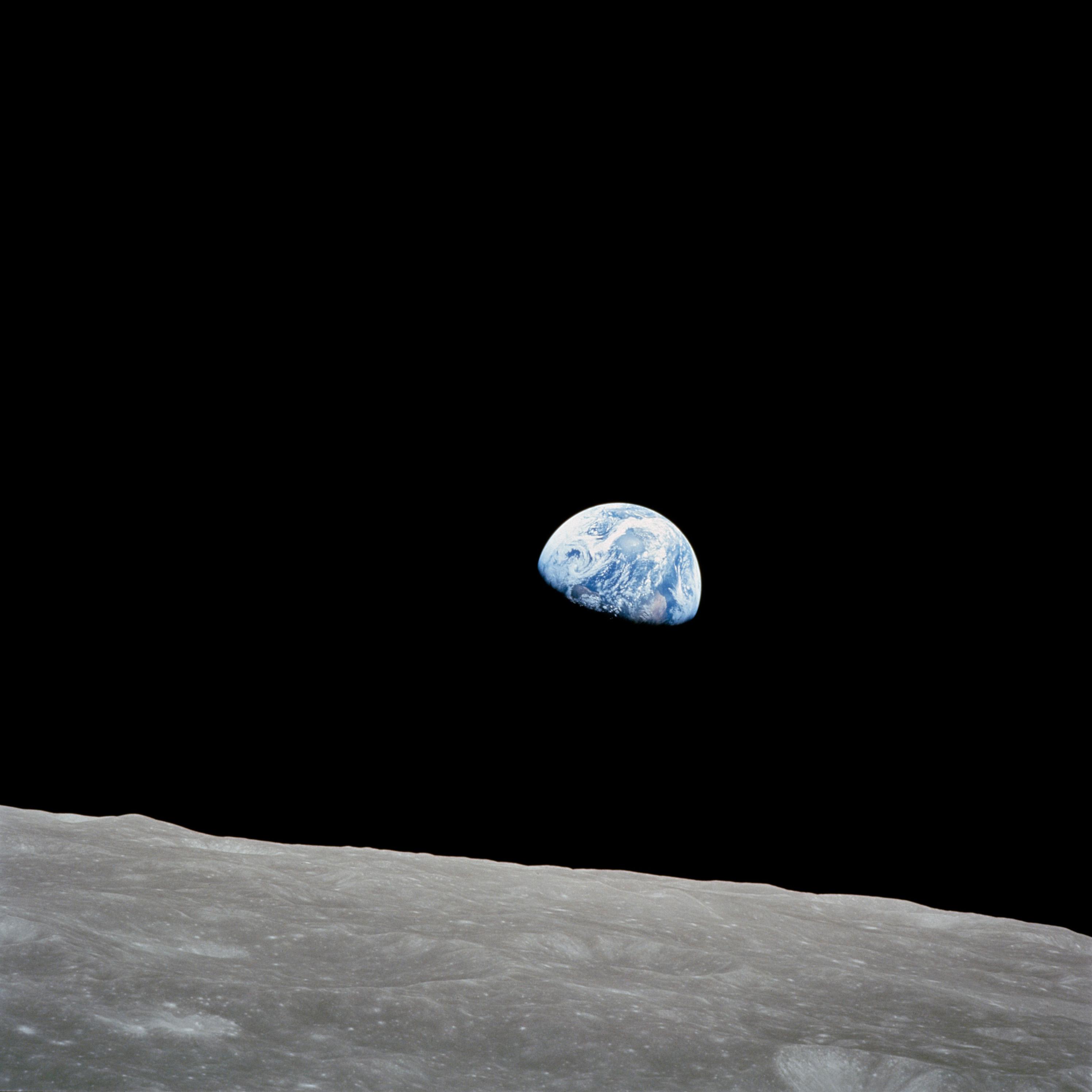 Le lever de la Terre