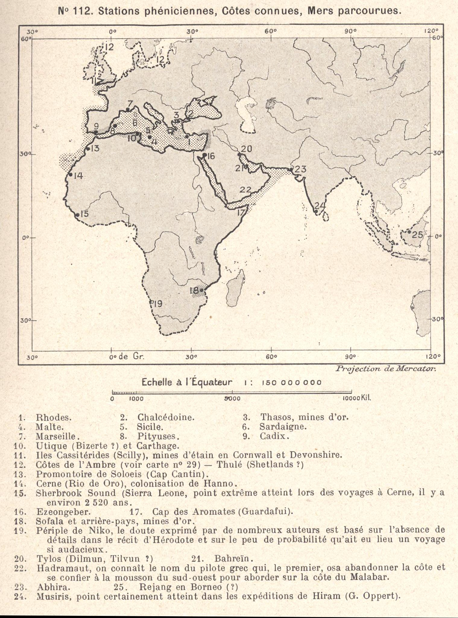 Le monde phénicien (Reclus, 1905)