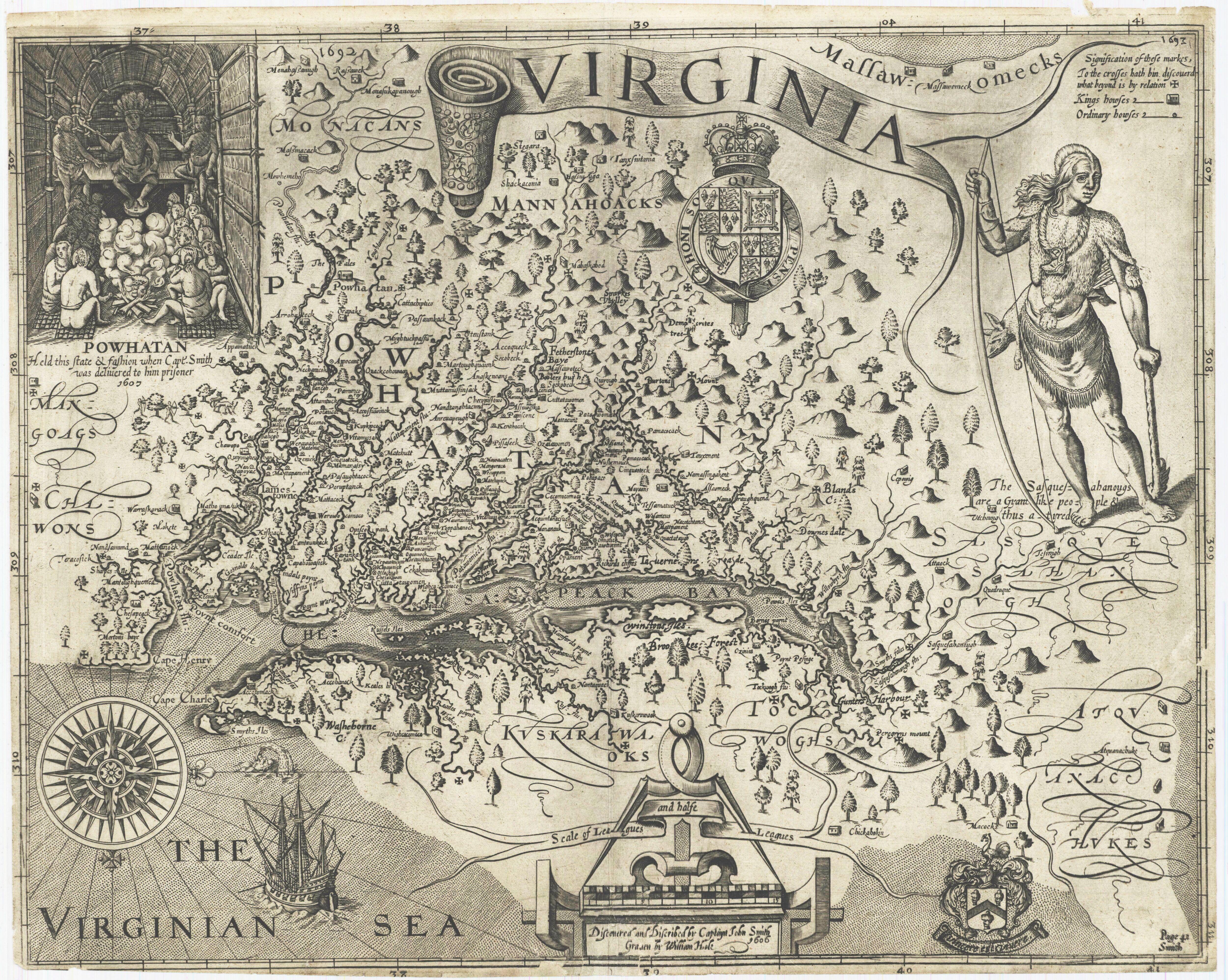 Carte de Virginie