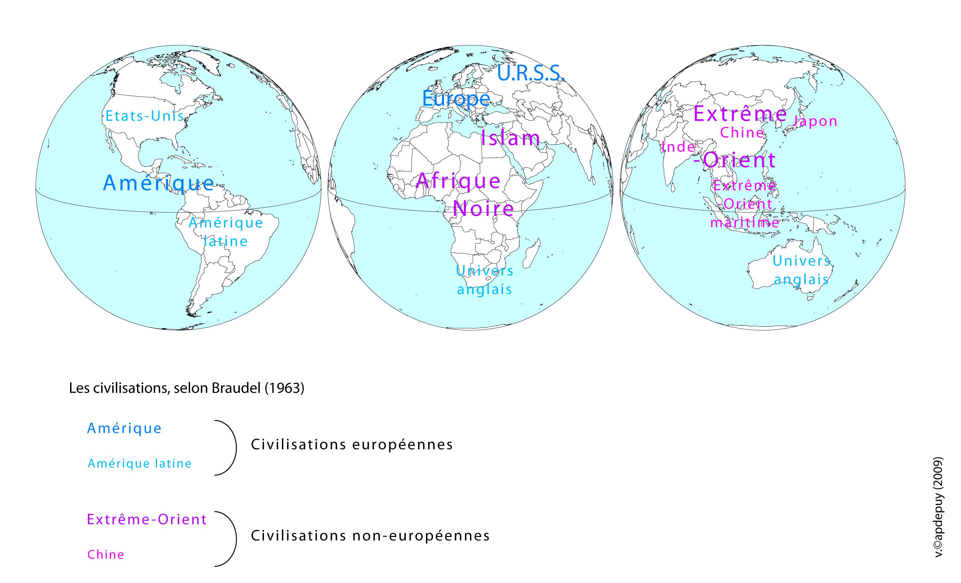 Aires de civilisation (Braudel)