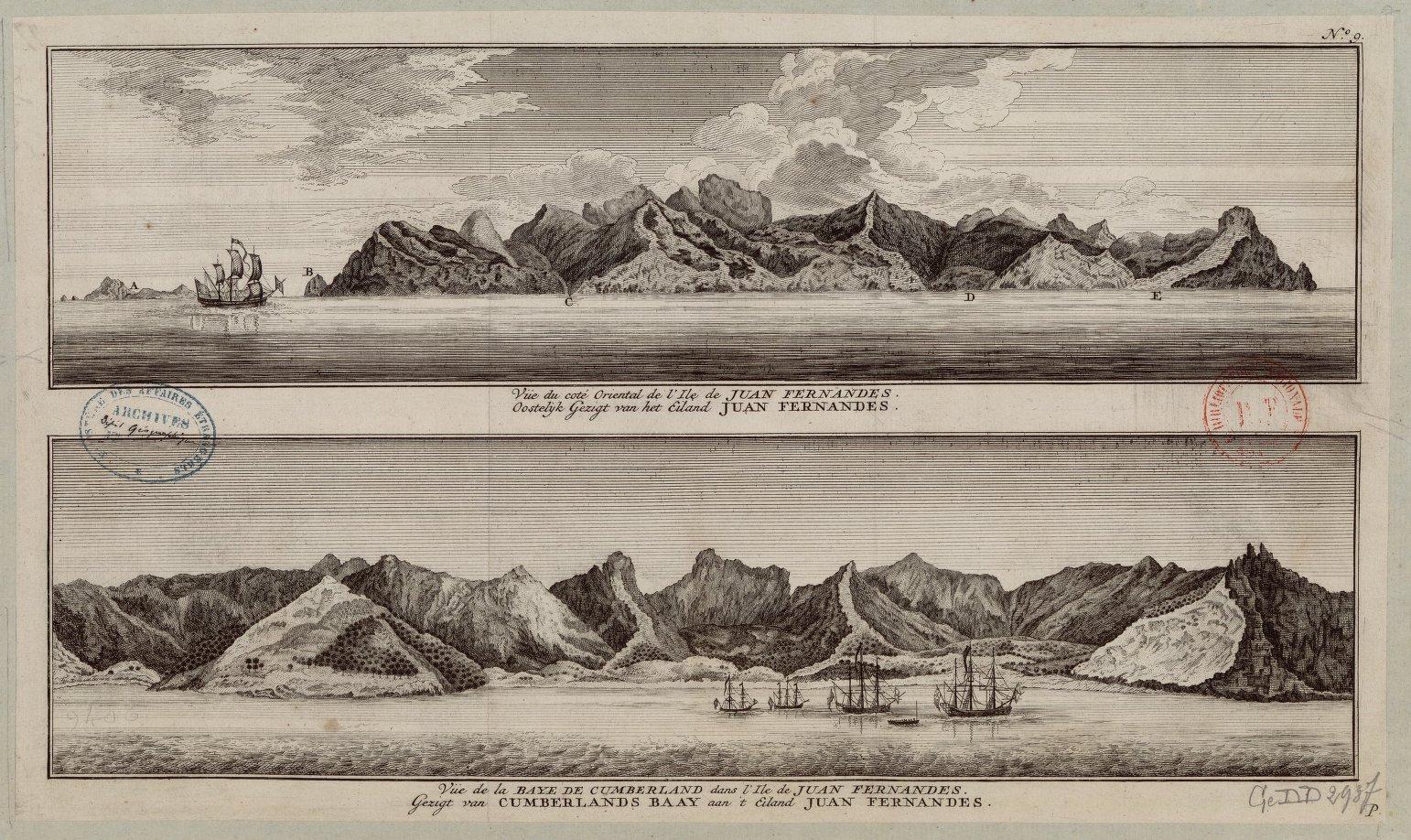 Ile de Juan Fernandez (paysage)