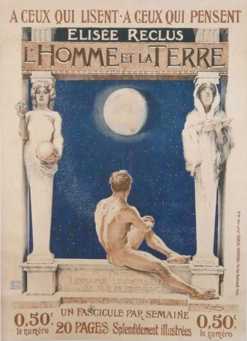 Reclus_L'homme et la terre_affiche