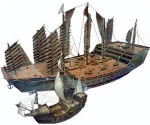 Fig 2 Comparaison Zheng He