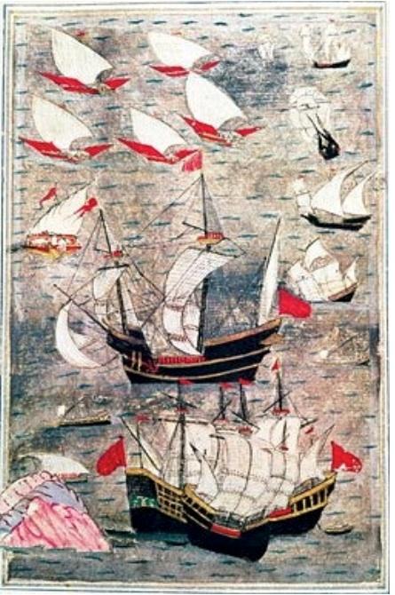Fig 7 Peinture anonyme ottomane